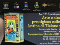 Collezione di lattine di Tiziana Guatelli: arte e storia in mostra alla Fornace Alba Docilia di Albissola Marina