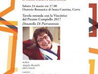 L'Arminuta: Donatella Di Pietrantonio presenta a Cervo il suo romanzo vincitore al Premio Campiello 2017