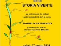 Storia Vivente: ne parla Marirì Martinengo, sabato 17 marzo, a cura di Eredibibliotecadonne