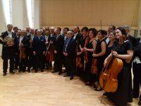 Grande successo dell' Orchestra del Teatro Carlo Feliceper il concerto inaugurale dell'Expo a Yunduan Chengdu – Cina