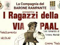 I ragazzi della via Paal a Pietra Ligure: lunedì 10 dicembre, con Andrea Nicolini, si rivive una storia ambientata quasi un secolo fa