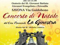 Concerto di Natale a cura del Coro Femminile 'La Ginestra', sabato 15 dicembre a Savona