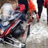 Sestriere, motoslitta, ambulanza e elicottero per soccorrere uno scialpinista