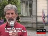 A Perosa Argentina protesta dei dipendenti della New Co.Cot.