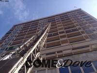 Vigili del fuoco al grattacielo: si tratta di un'esercitazione