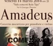 I Venerdì del Corelli: Domani un concerto dedicato a Mozart