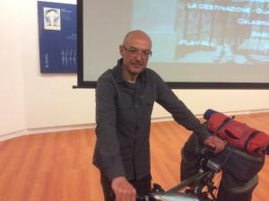 Ivo Pons racconta il suo giro d'Italia da Torre Pellice a Guardia Piemontese