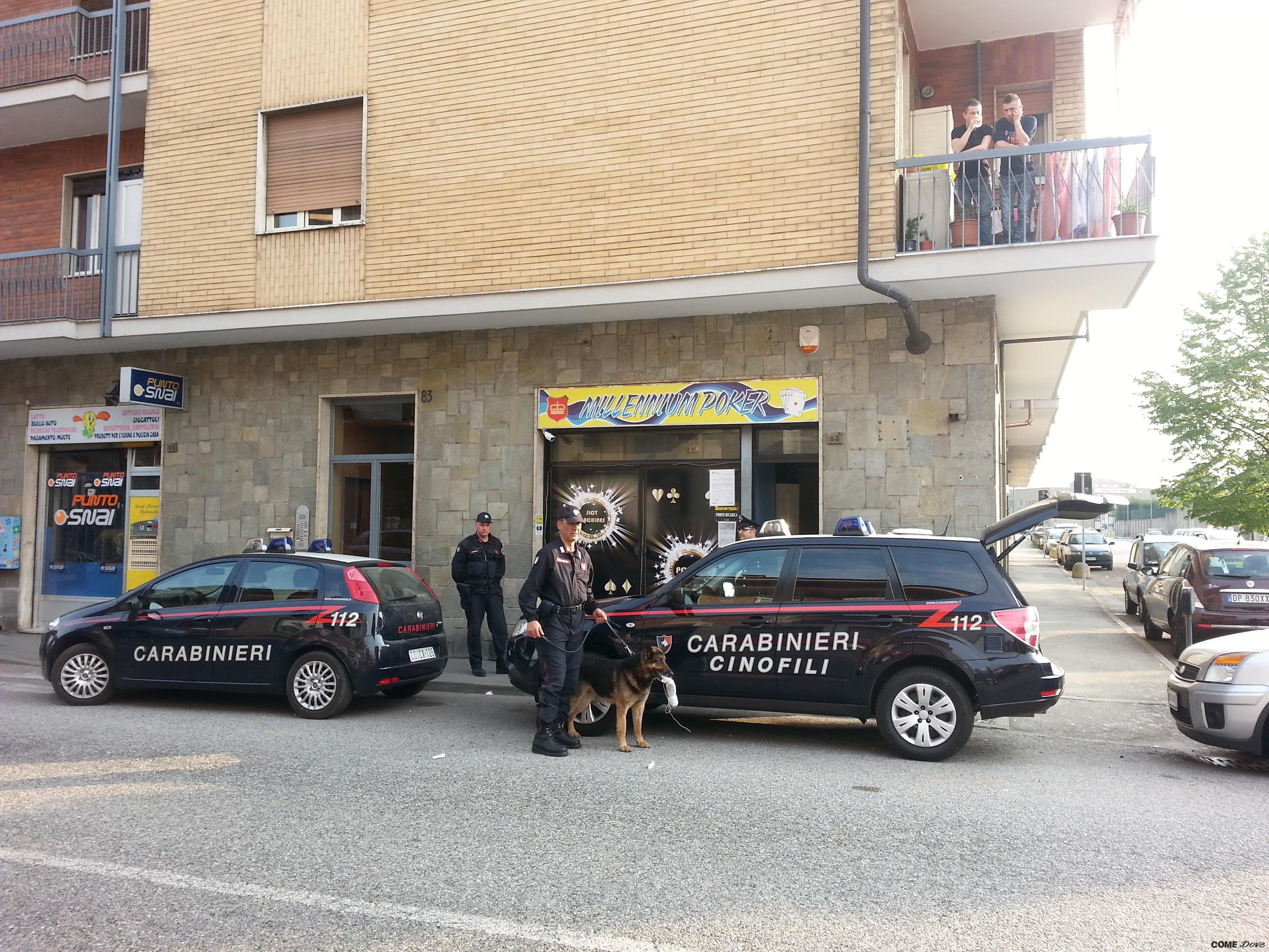 Ufficio Lavoro Nichelino : Nichelino droga nascosta nella sala giochi arrestati i due