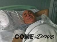 In due settimane all'ospedale gli cambiano tre volte il letto