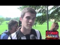 VIDEO: la Juve a Villar Perosa