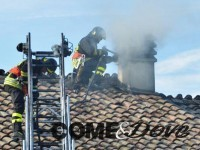 Oggi pomeriggio due incendi a Bricherasio
