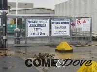 Protesta alla Safim di None: lavoratori si sdraiano in terra