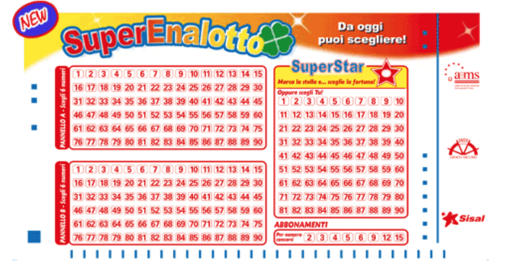 Superenalotto 23mila euro vinti a pinerolo con una for Abbellimento del lotto d angolo