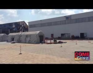 VIDEO | Simulazione terremoto a Pinerolo