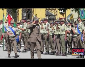 VIDEO | Cambio al comando del Terzo