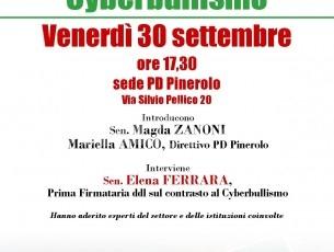 Combattere il cyberbullismo: se ne parla a Pinerolo