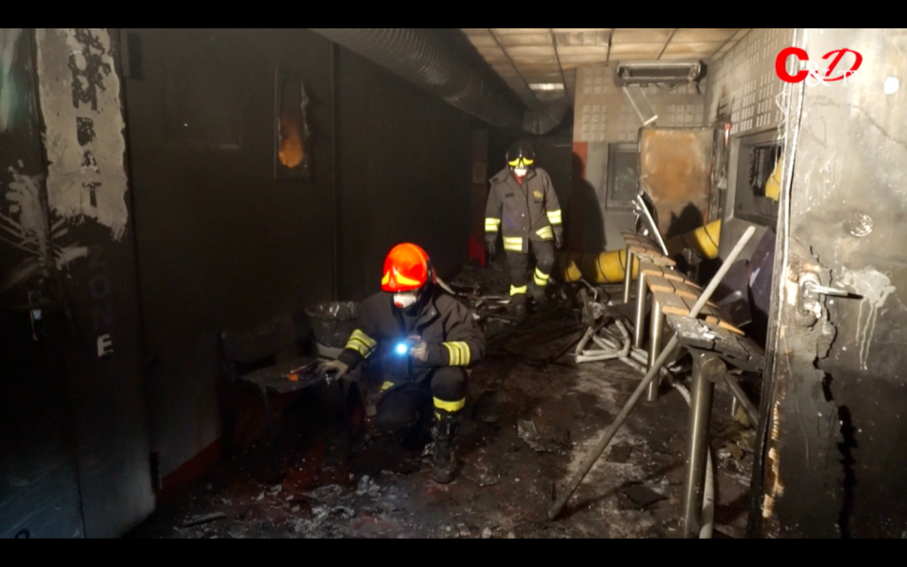 Per l'incendio del Sottotiro c'è un indagato: Davide Depetris