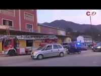 VIDEO | Incendio al Sottotiro: una vittima e tre intossicati