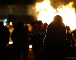 VIDEO | Festa dei Valdesi: il falò di Pinerolo