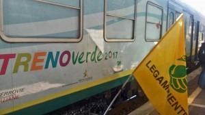 Il treno Verde di Legambiente si ferma ad Asti e premia Acea Pinerolese quale campione di economia circolare