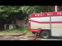 VIDEO | Incendio al Turk di Pinerolo
