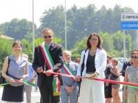 Inaugurata la nuova rotonda di Fenile