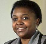 Cécile Kyenge, eurodeputata, già ministra per l'integrazione sabato a Pinerolo