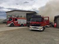 Cavour incendio nella cascina Cavallone, danni ai macchinari