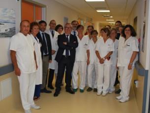 Pinerolo: all'ospedale Agnelli inaugurato il day hospital di oncologia