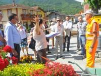 Una delegazione di Pomaretto in Slovenia per il concorso europeo Entente Florale 2017