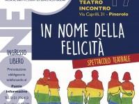 """""""In nome della felicità"""", lo spettacolo sul tema dell'omofobia"""