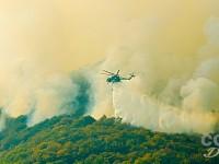 VIDEO | Vigili del Fuoco e Aib lavorano senza sosta per arginare le fiamme sul monte Tre Denti