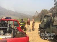 Emergenza incendi: al lavoro i team per la valutazione dei danni