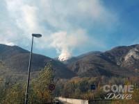 Incendi: la situazione oggi (lunedì) arrivati due Canadair