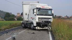 incidente mortale cavour