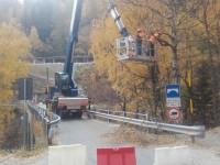 Prali, lavori al ponte della Gianna. Gli orari di chiusura della provinciale