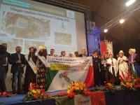 """Pomaretto comune italiano candidato al Concorso Mondiale  di  """"Communities in Bloom""""."""
