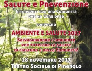 depliant convegno Ambiente e Salute 2017