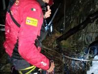 Escursionista precipita in un dirupo, salvato dall'intervento del Soccorso Alpino