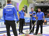 L'Italia del Curling maschile alle Olimpiadi