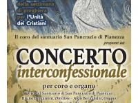 Un concerto per festeggiare la settimana di preghiera per l'unità dei cristiani