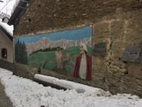 I murales di Usseaux