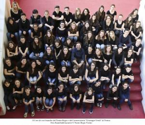 coro voci bianche Teatro Regio Torino e Conservatorio