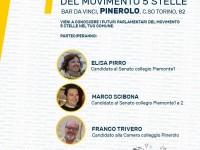 ELEZIONI 4 MARZO | Aperitivo con i candidati del Movimento 5 Stelle