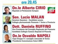 ELEZIONI 4 MARZO | Incontro questa sera a San Secondo con i candidati di Forza Italia