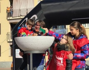 VIDEO | Special Olympics Italia, l'accensione del braciere