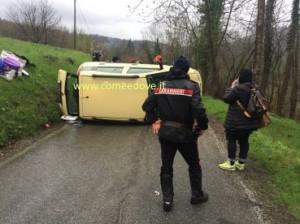 Incidente in via Fiorina a Roletto