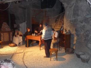 Uno spettacolo teatrale in miniera