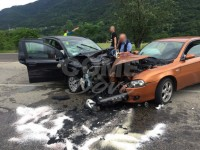 Incidente stradale tra Villar Perosa e Pinasca