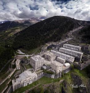 Una suggestiva vista del forte del fotografo Allaix